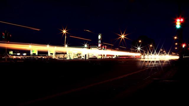 ガソリンスタンド 夜勤バイト